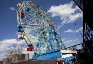 The Wonder Wheel at Coney Island is still a staple of the boardwalk